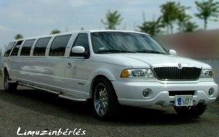 Lincoln navigator limo fehér