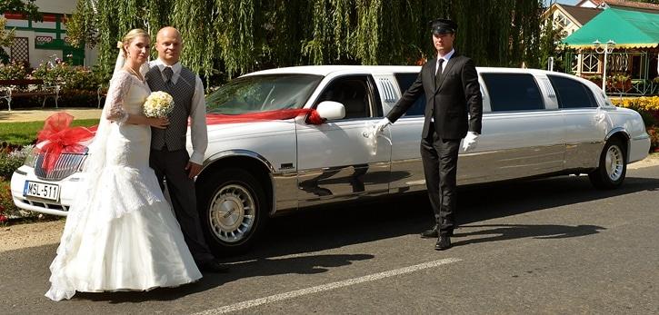 Limuzin bérlés esküvőre