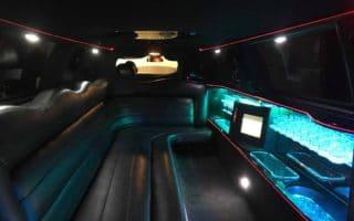 Lincoln town car limuzin belső kép