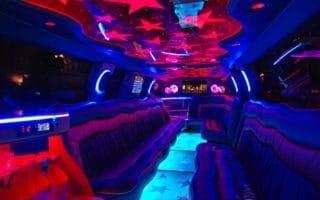 Infiniti limo belső kép