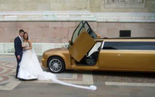 limuzin esküvő Bazilika