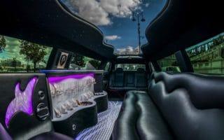 Chrysler 300 c limuzin belső panoráma