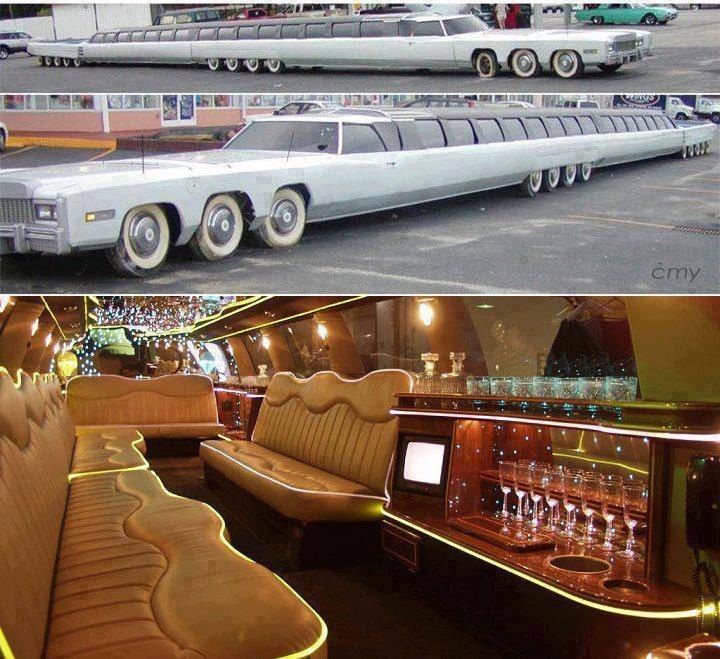 A világ legnagyobb limuzinja