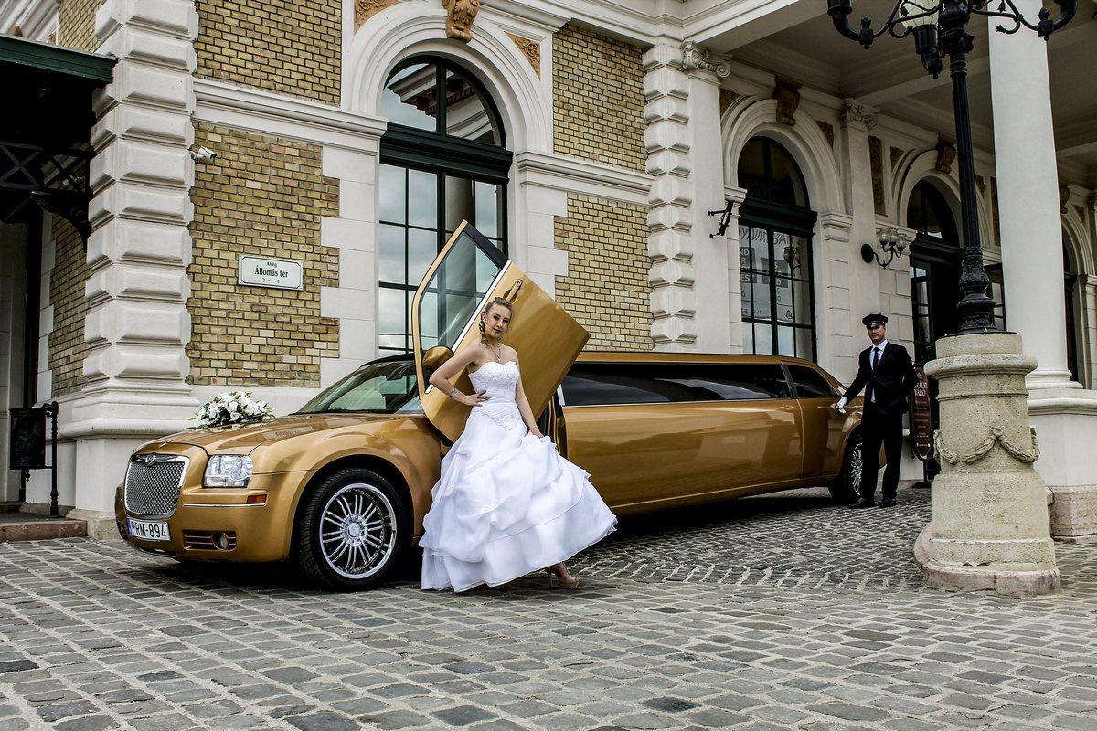 PLS partylimuzin-limuzin bérlés Esztergom-esküvő kép